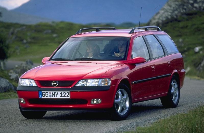 Opel Vectra Stationwagon 1.8i-16V CD (1997)