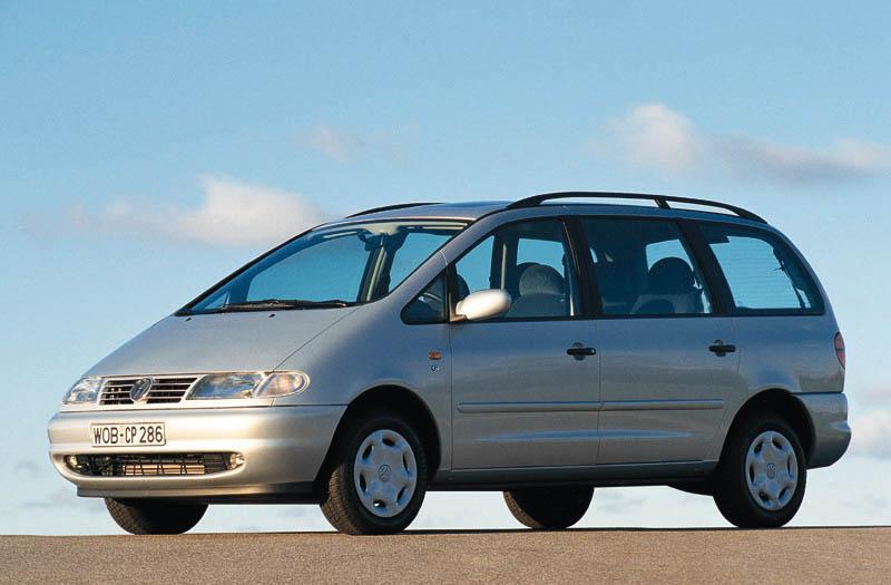 Volkswagen Sharan 1.9 TDI 110pk Highline (1998)