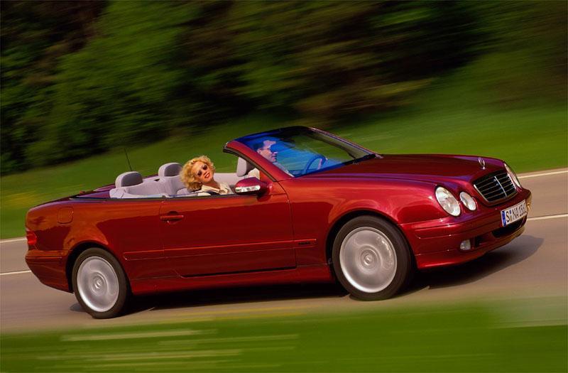 Mercedes-Benz CLK 200 Kompressor Cabr. Elegance (2002)