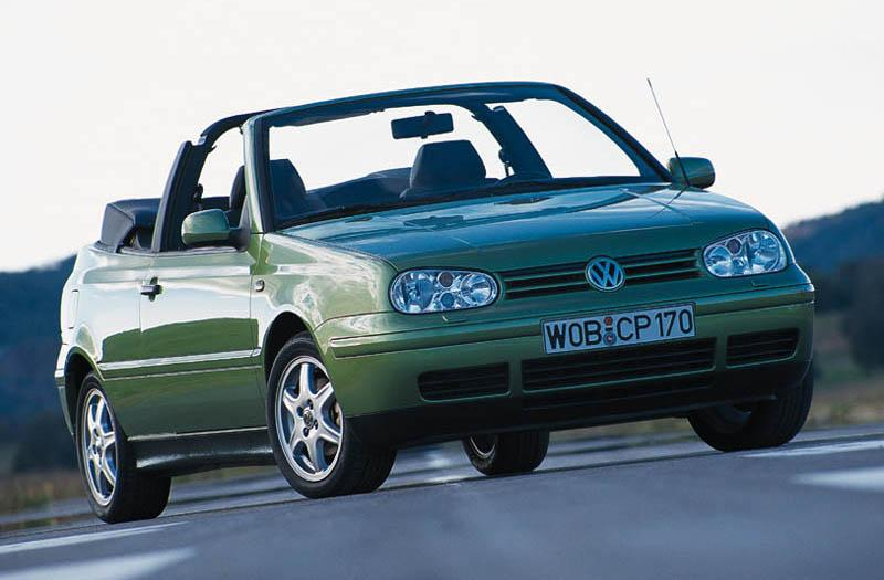 Volkswagen Golf Cabriolet 1.8 90pk Trendline (1999)