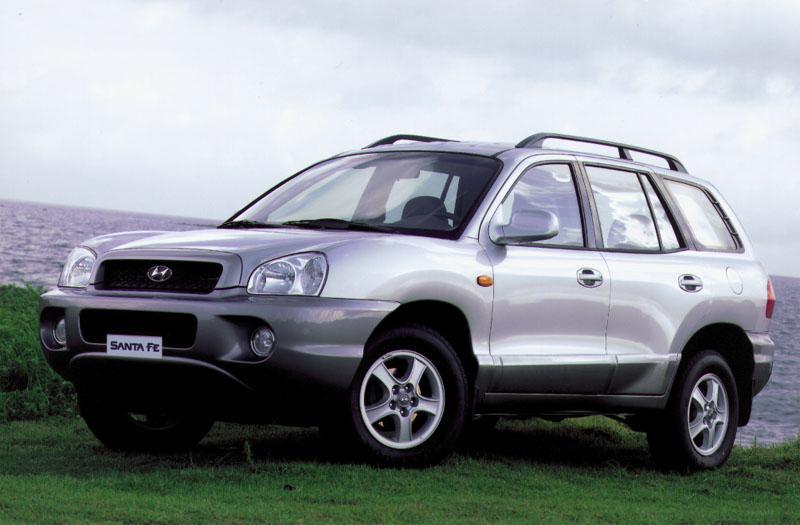 Hyundai Santa Fe 2.4i 16V 4WD (2002)