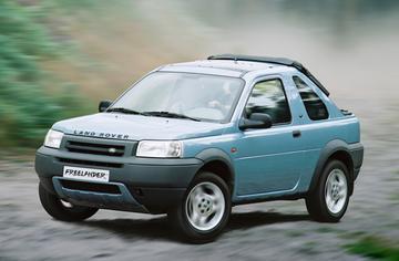 Land Rover Freelander Hardback 2.0 Td4 S (2001)