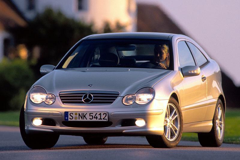 Mercedes-Benz C 220 CDI Sports Coupé (2002)