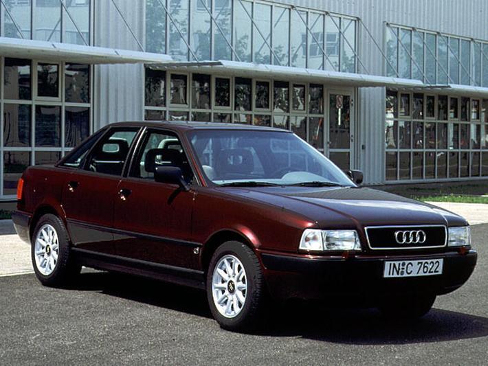 Audi 80 2.0 E 90pk (1994)