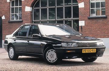 Peugeot 605 SLD (1991)
