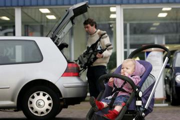 In welke auto past een kinderwagen?