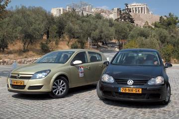 Volkswagen Golf 1.6 (2007) - Opel Astra 1.6 (2007)