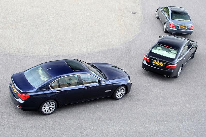 BMW ActiveHybrid 7 L – Mercedes-Benz S400 Hybrid Lang – Lexus LS600h Hybrid L President