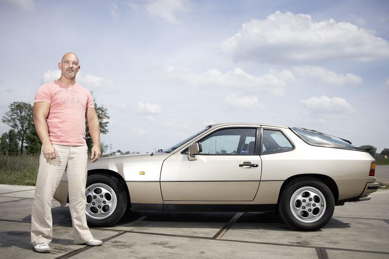 Klokje rond Porsche 924 S