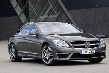 Mercedes CL AMG uiteraard ook nieuw