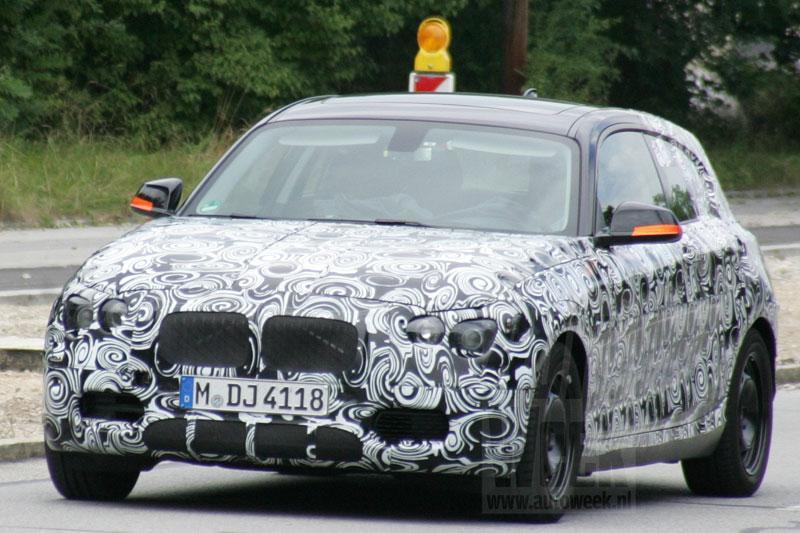 Nieuwe BMW 1-serie nu ook gespot als 3-deurs