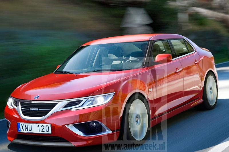 Saab test verder met de nieuwe 93