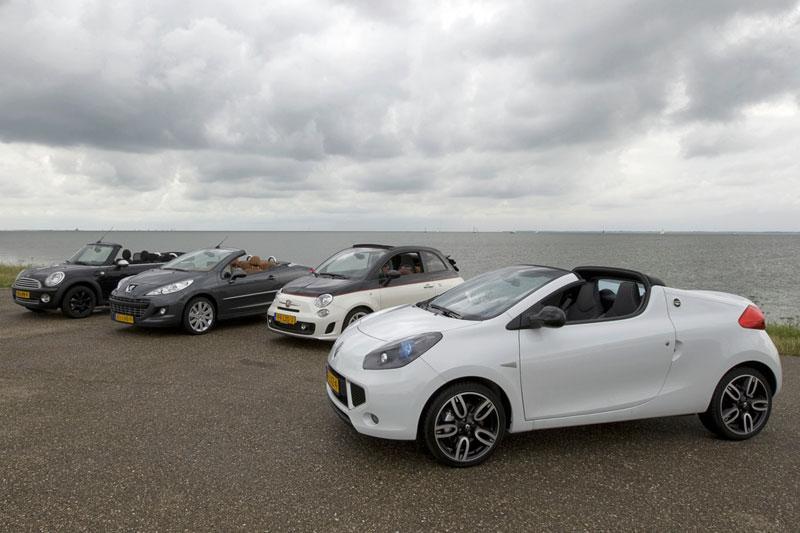 Abarth 500 C - Mini Cooper Cabrio - Peugeot 207 CC Sport - Renault Wind