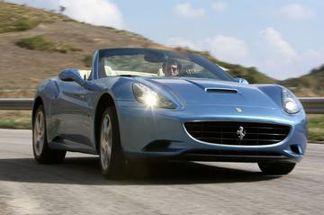 'Groene' Ferrari California op komst