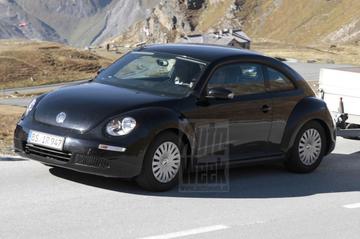 Hier rijdt de nieuwe VW New Beetle