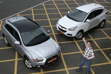 Hyundai ix35 1.6 GDI - Mitsubishi ASX 1.6 Cleartec
