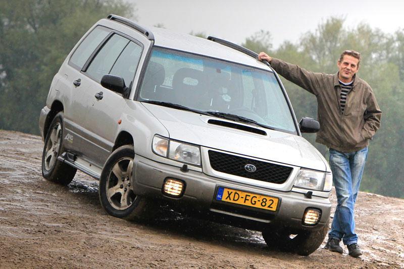 Klokje rond Subaru Forester