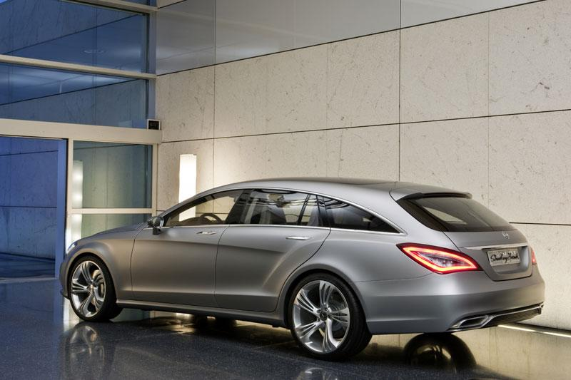 De Mercedes CLS Shooting Brake!