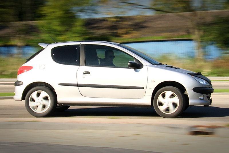 Klokje rond - Peugeot 206
