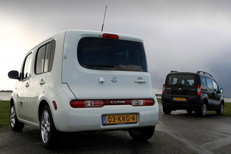 Nissan Cube - Citroën Nemo