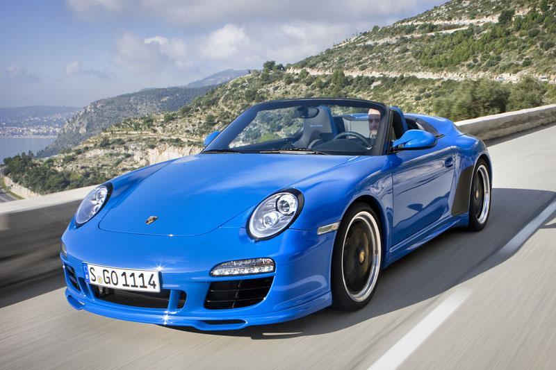 Rij-impressie Porsche 911 Speedster