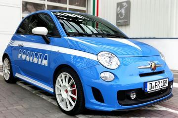 Abarth 500 voor Italiaanse politie