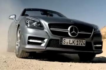 Promotionele video toont Mercedes SLK