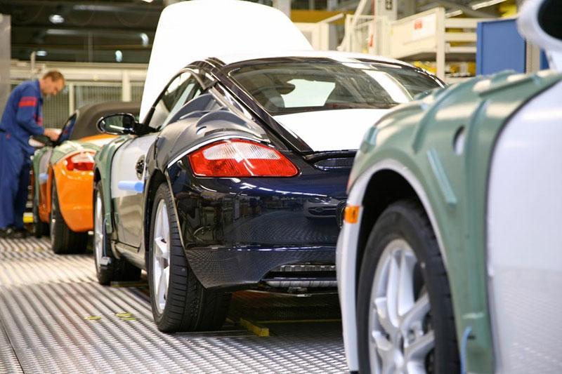 Ook Porsche uit Karmann-fabriek