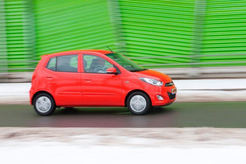 Rij-impressie Hyundai i10