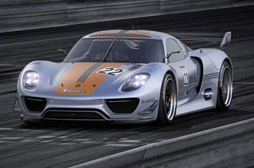 Verantwoord racen: Porsche 918 RSR