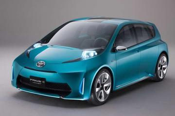 Toyota Prius c Concept wordt compacte hybride