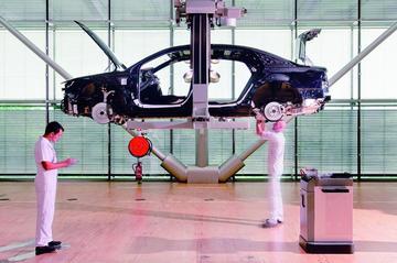 Volkswagen Phaeton wordt designpionier