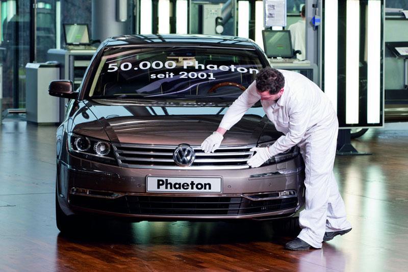 """""""Nieuwe Volkswagen Phaeton komt zeker"""""""