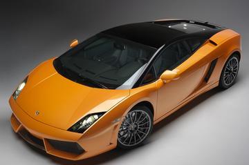 Lamborghini Gallardo Bicolore schittert in Qatar