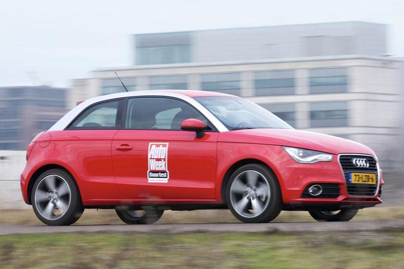 Afscheid duurtest - Audi A1