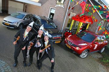 Prins Carnaval test Nissan Juke - Kia Soul - VW CrossPolo