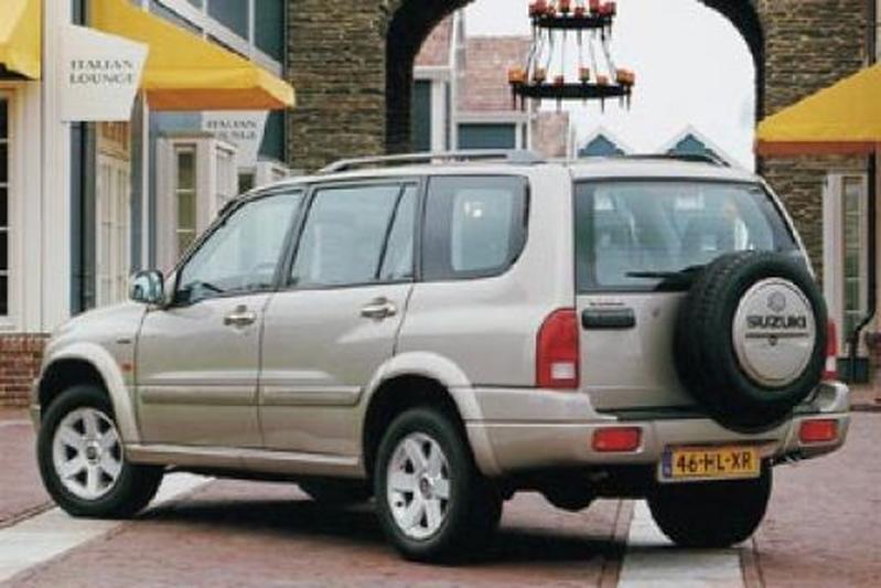 Modernistyczne Suzuki Grand Vitara XL-7 Eerste rijtest - AutoWeek.nl LN96