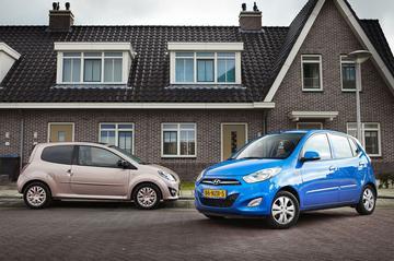 Hyundai i10 1.2i - Renault Twingo 1.2 16V CO2