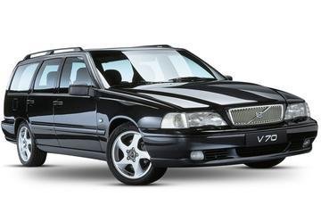Drie generaties Volvo V70