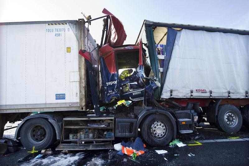 PVV: Poolse chauffeurs op herexamen
