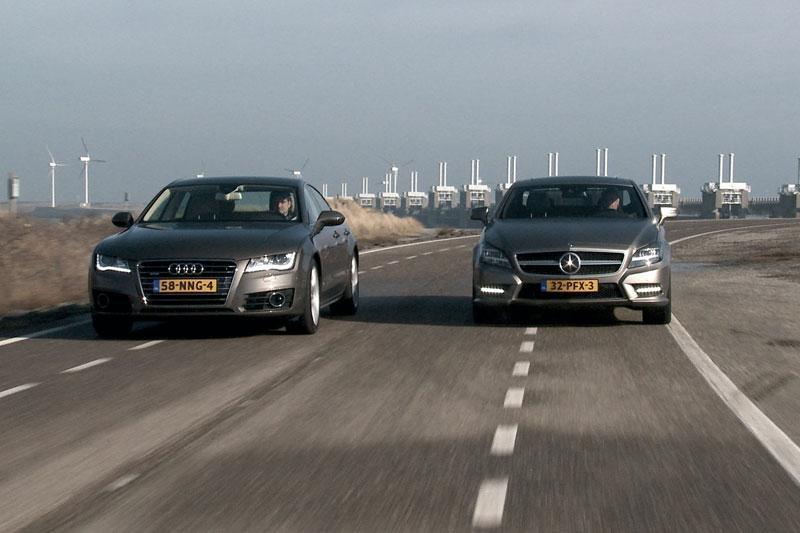 Dubbeltest Mercedes CLS - Audi A7