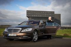 Bas van Putten test audio Mercedes S-Klasse