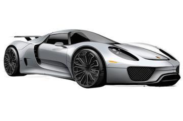Productie Porsche 918 Spyder begint in 2013
