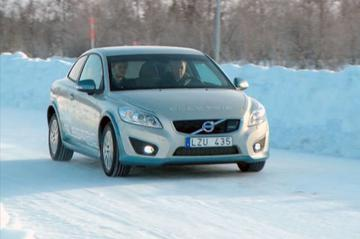 Volvo C30 Electric wintertest