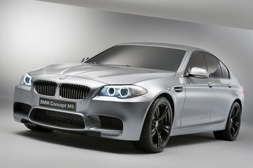BMW M5 toont zichzelf officieel in conceptvorm