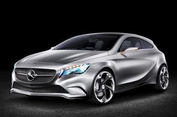 Mercedes Concept A gaat 't helemaal anders doen