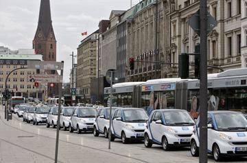 Elektrisch deelautoprogramma Car2Go naar Amsterdam