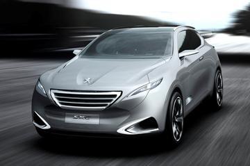 Imposante concept: Peugeot SxC