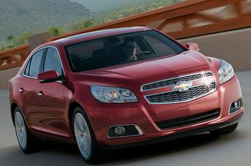 Gelekt: de Chevrolet Malibu, ook voor ons