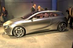 Presentatie Mercedes Concept A-klasse